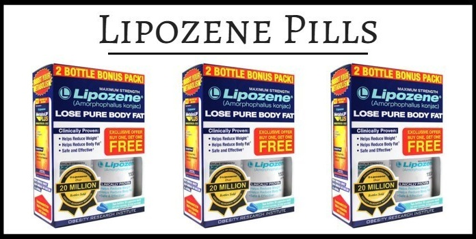 Lipozene packages