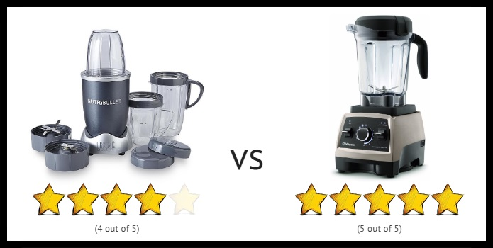 Nutribullet vs Vitamix