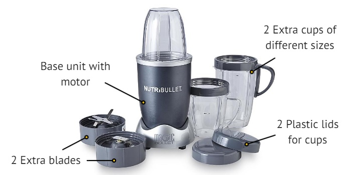 nutribullet features