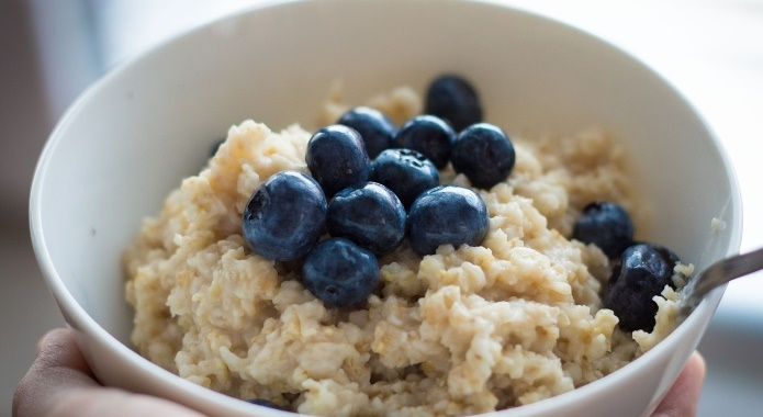 oats blueberries