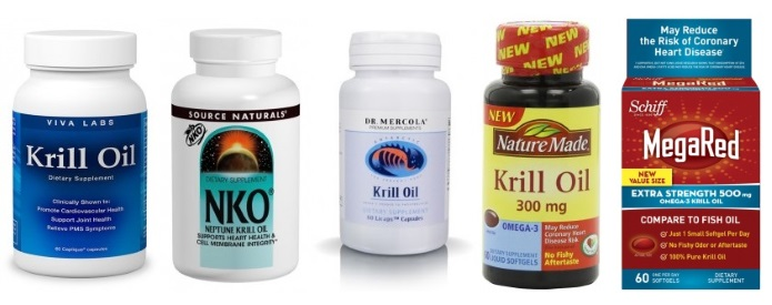 top brands of krill oil