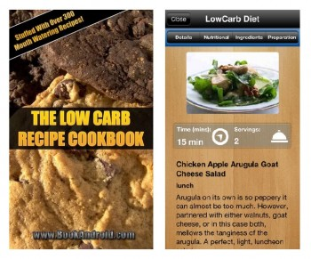 Apps Full Of low Carb Recipes