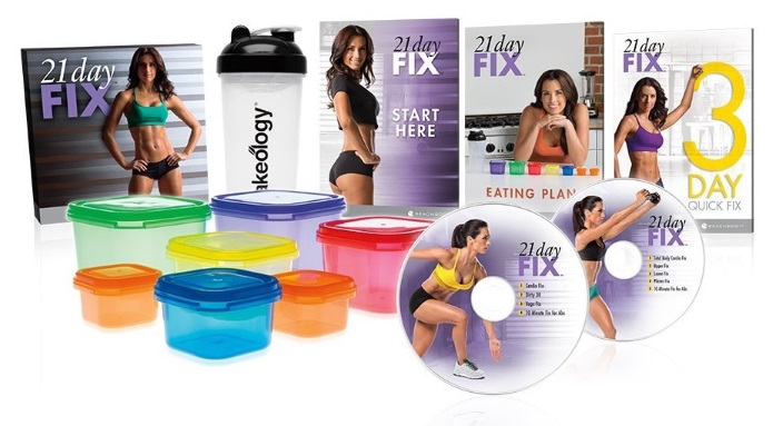 21 day fix items