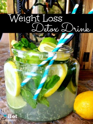 Weight Loss Detox Drink by Raining Hot Coupons