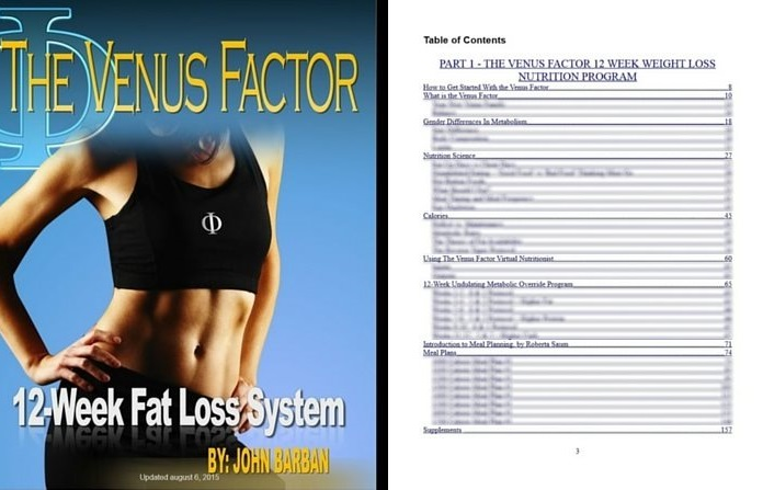 VF weight loss sample