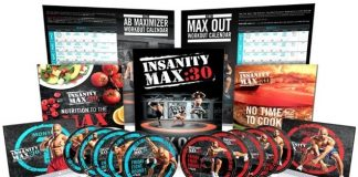 Insanity Max 30 program