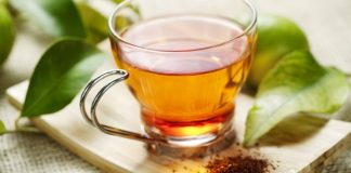 red rooibos hot tea
