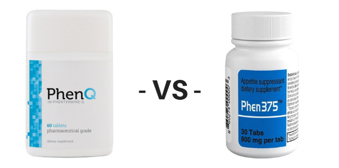 PhenQ vs Phen375 plain