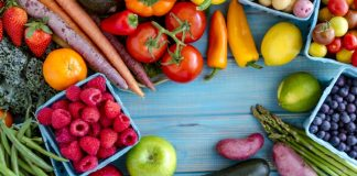 fruits and veggies for GM diet
