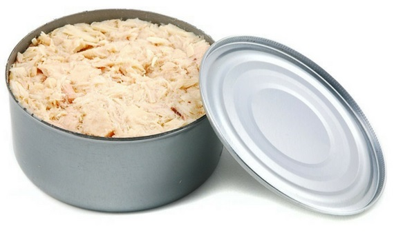 canned tuna fish for military diet