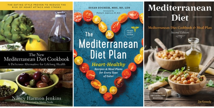 mediteranean diet cookbooks