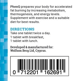 PhenQ dosage instructions