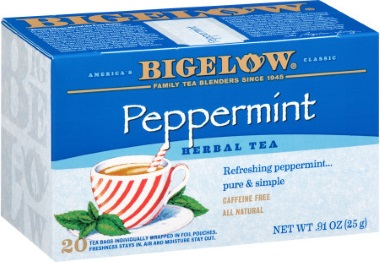 Bigelow Peppermint Herbal Tea