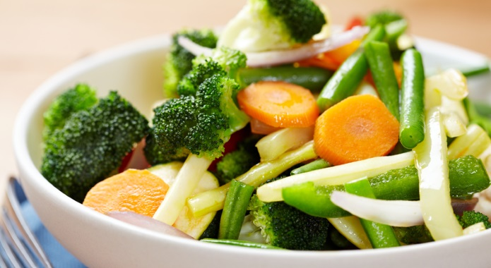 steamed veggies