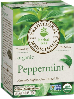 traditional medicinals organic mint