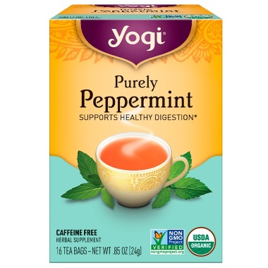 yogi purely peppermint