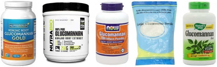 top brands of glucomannan powder