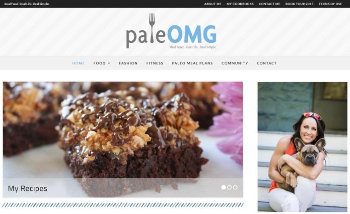 PaleOMG website