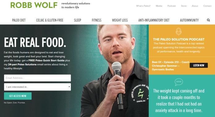 robbwolf website