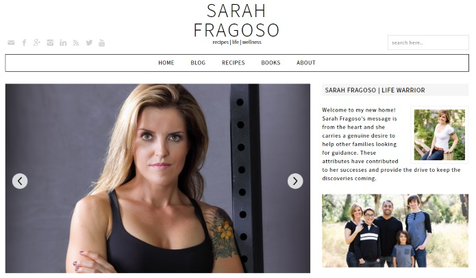 sarahfragosso websitw