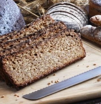 slices of sprouted bread