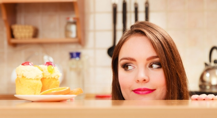 woman with sugar cravings
