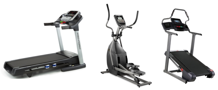 Three Different Exercise Machines
