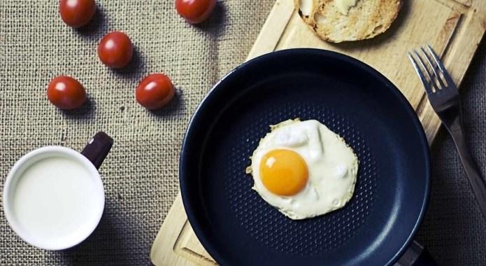 eggs on breakfast