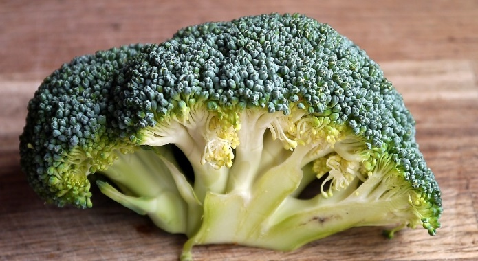 green broccoli on table