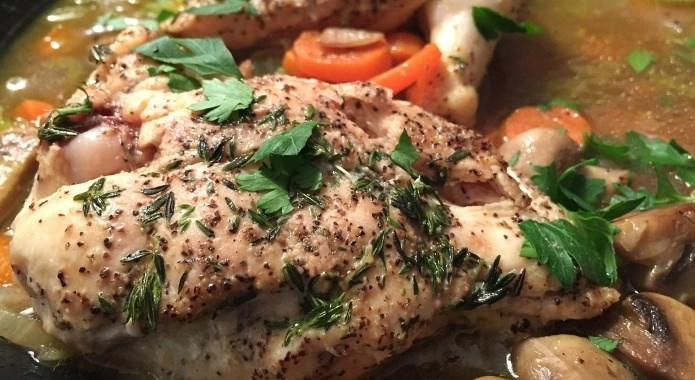 the grilled chicken breast