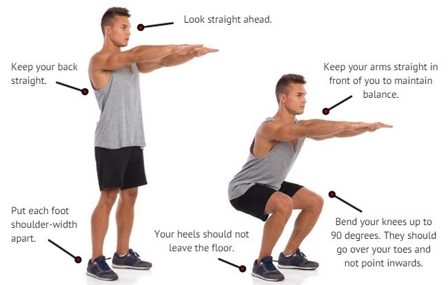 correct squat tips