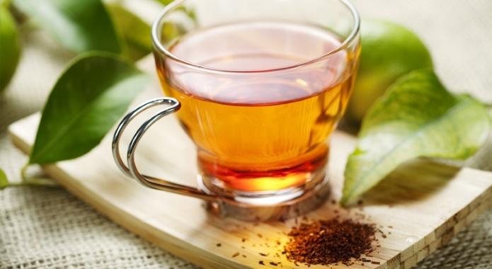red rooibos hot tea