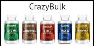 Crazybulk featured products