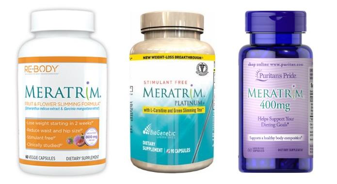 Meratrim supplements