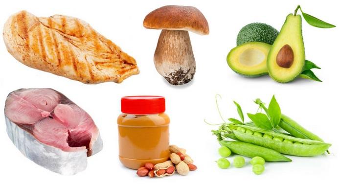 Niacin rich foods