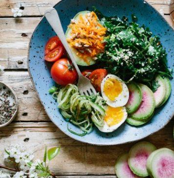 niacin rich breakfast