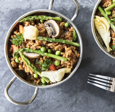 vegan paella mobile