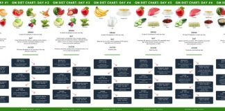 gm diet charts desktop