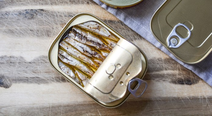 sardines canned in oil