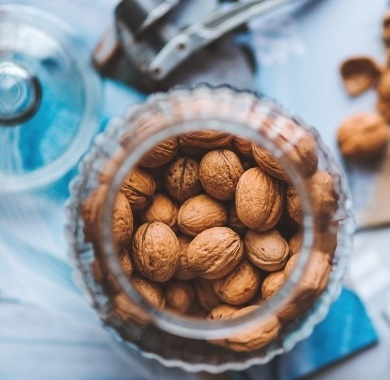 walnuts-in-glass-jar mobile