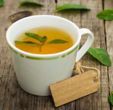 peppermint tea leaves mobile