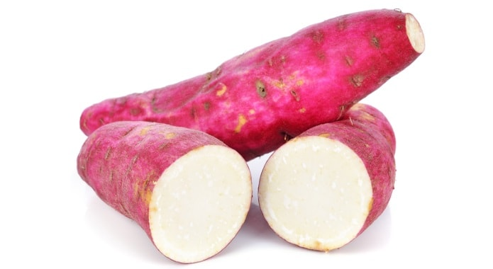 white sweet potatoes-min