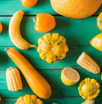 yellow veggies