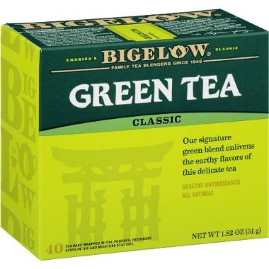 BIGELOW CLASSIC GREEN TEA BAGS