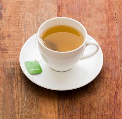 green tea bag mobile