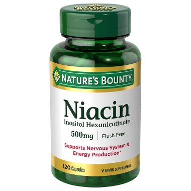 niacin by nature´s bounty